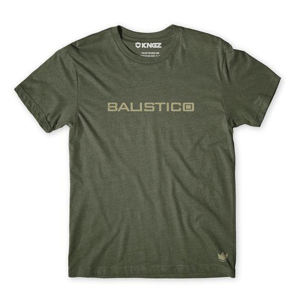 Balistico Tee Green Front