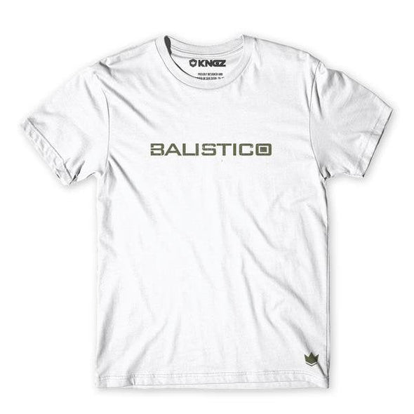Balistico Tee White Front