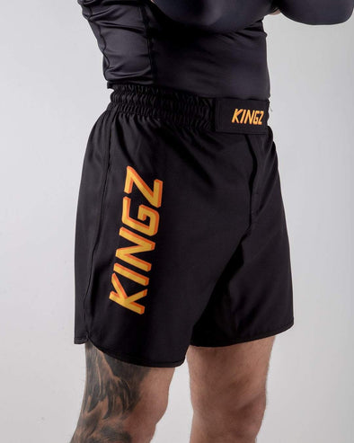 Kingz KGZ Shorts Orange Edition Side View
