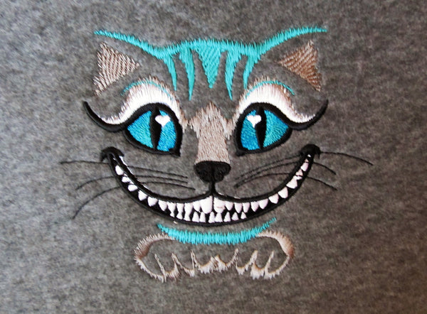Cheshire Cat embroidery designs download