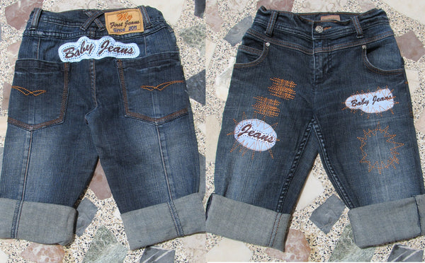 Make cute baby jeans collection