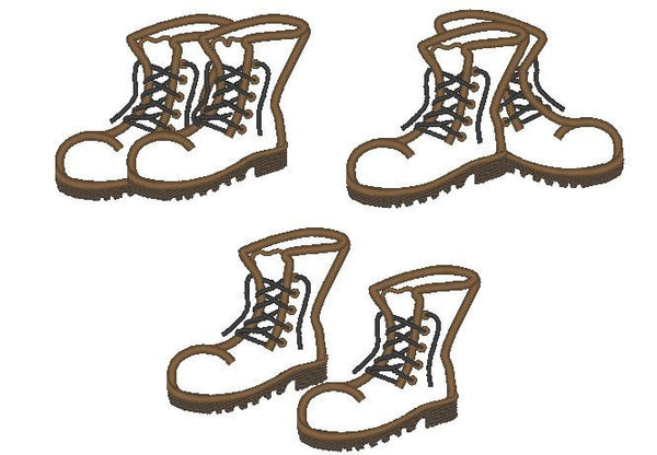 Combat Boots collection of 3