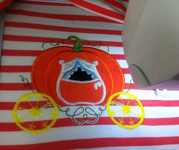 Princess Pumpkin Carriage for monogramming