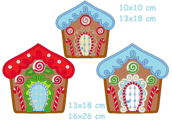 Christmas Ginger houses collection