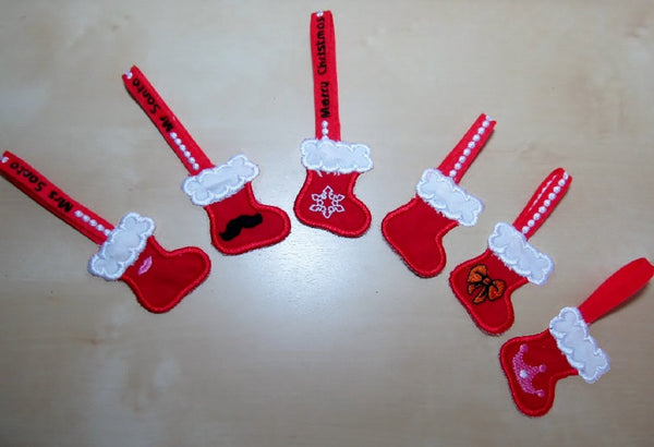 Christmas Stockings banners/key-holders collection