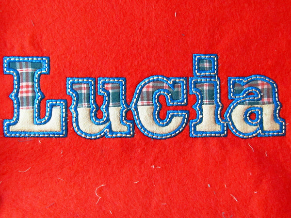 Circus, Rodeo, Big top, Cowboy Font applique