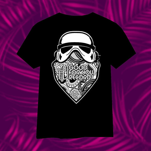 Good For You Records Limited Edition Storm Trooper T-Shirt