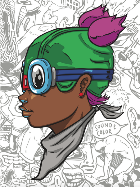 Hebru Brantley: Beyond Kirby (Lil Momma)