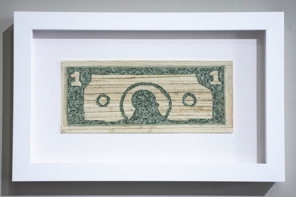 Curtis William Readel: Untitled Bill (Simpsons Money)