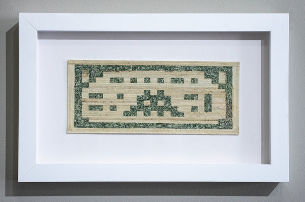 Curtis William Readel: Untitled Bill (Invader)