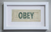 Curtis William Readel: Untitled Bill (They Live, OBEY)