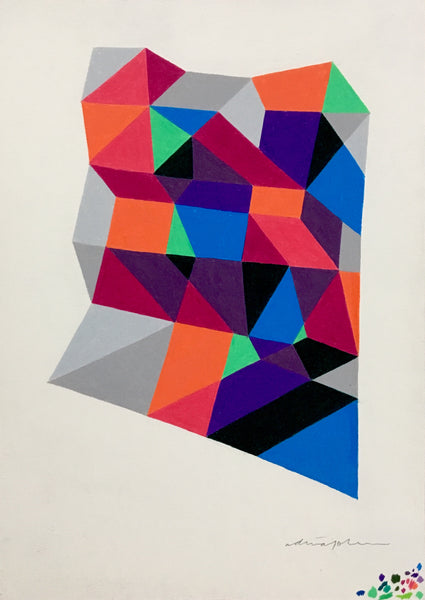 Adrian Johnson: Colour Pencil Study No. 3