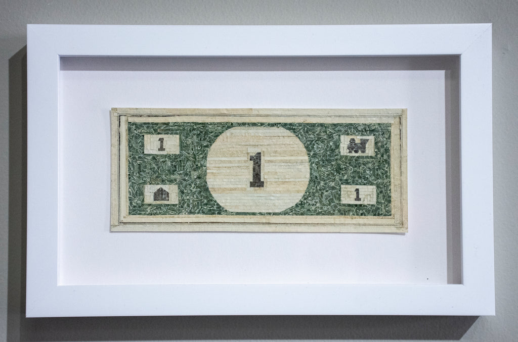 Curtis William Readel: Untitled Bill (Monopoly Money)
