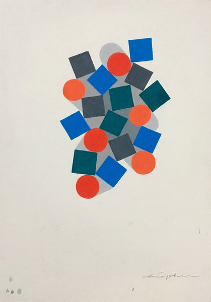 Adrian Johnson: Colour Pencil Study No. 6