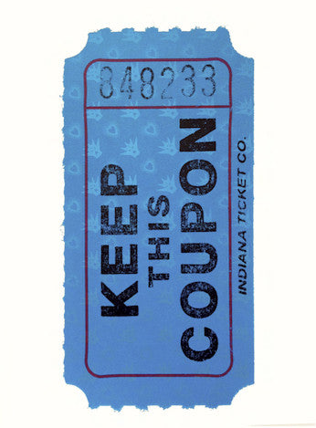 ASVP: Keep This Coupon (Blue)