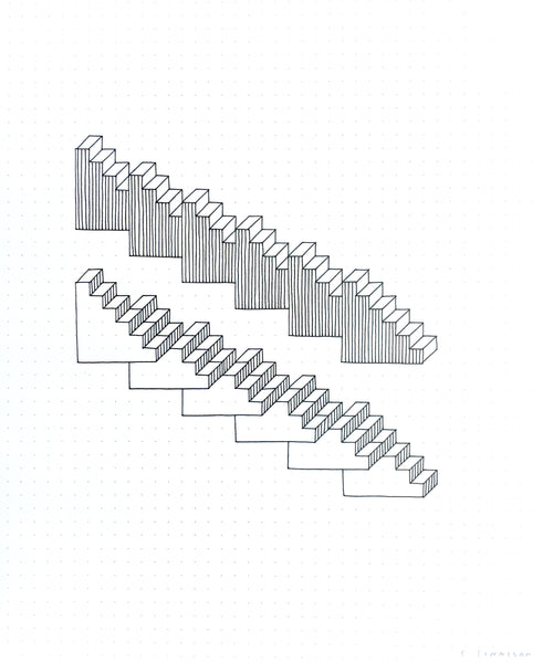 Shannon Finnegan: Anti-Stairs Drawing