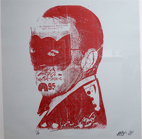 Bast Masquerade Sinatra limited edition screen print