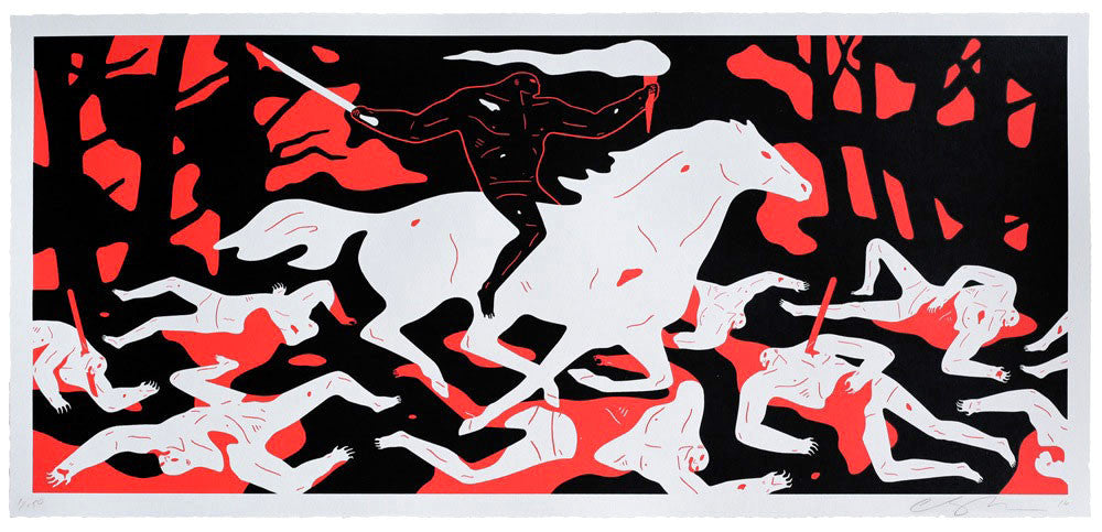 Cleon Peterson: Victory (Red)