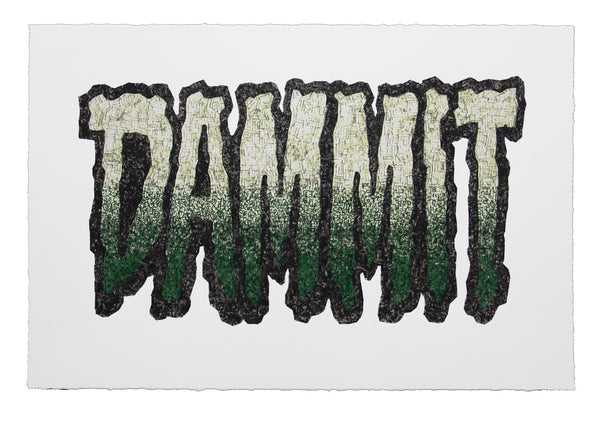Curtis William Readel: DAMMIT Print