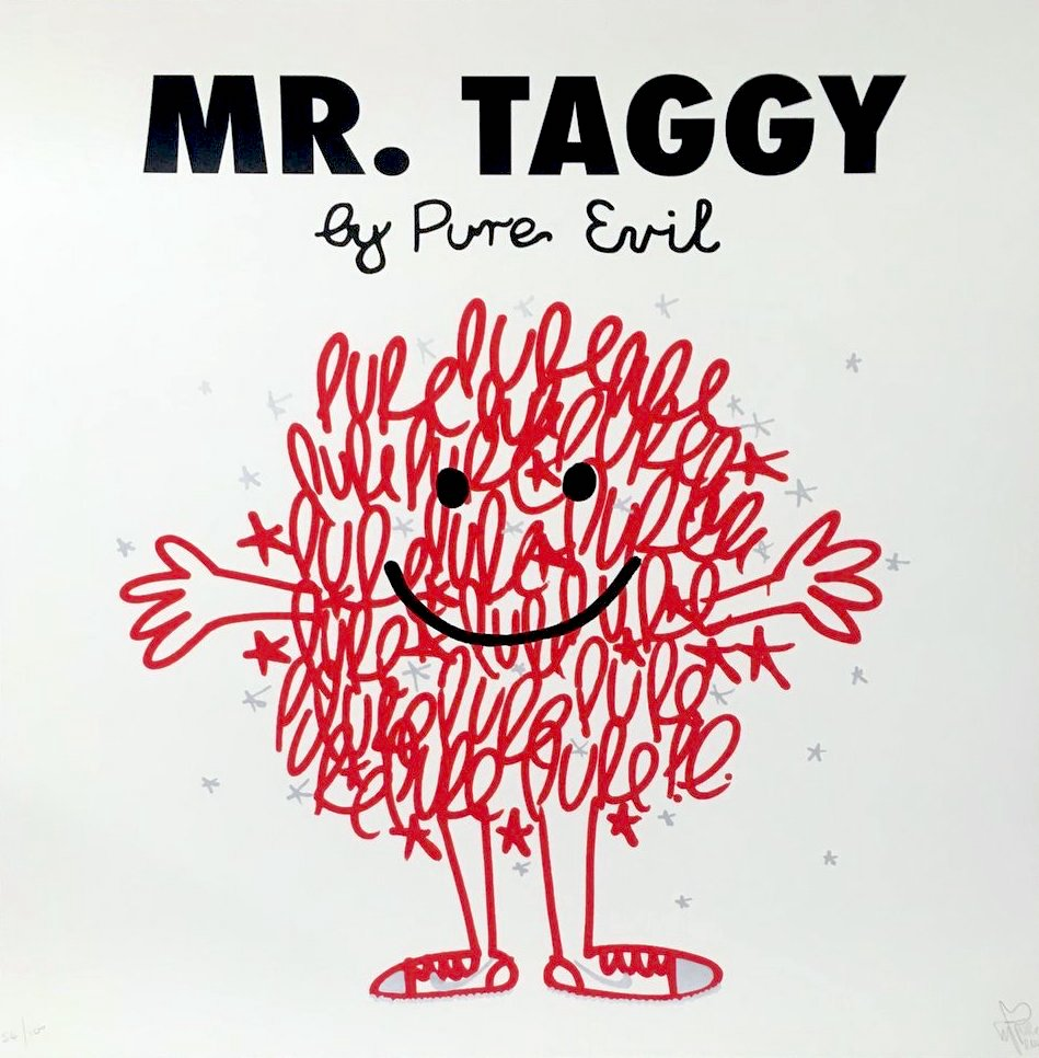 Pure Evil: Mr. Taggy - Nike Taggy