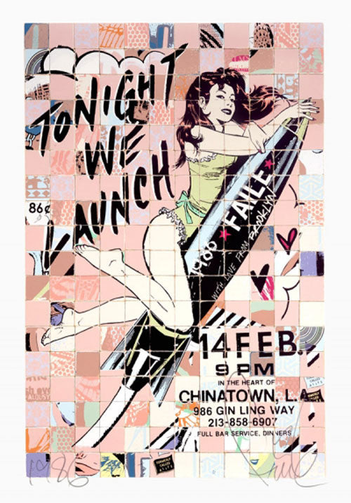 FAILE: Tonight We Launch