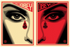 Shepard Fairey: Eye Alert Set