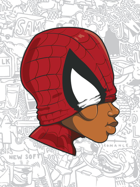 Hebru Brantley: The Mysterious Myth of the Boy Spider