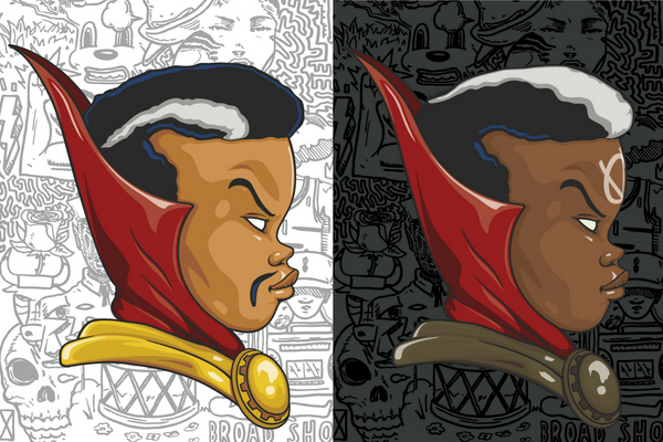 Hebru Brantley: 'Strange' & 'Brother Voodoo' Print Set