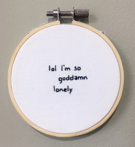 Renée Hrovat: Lol I'm so goddamn lonely