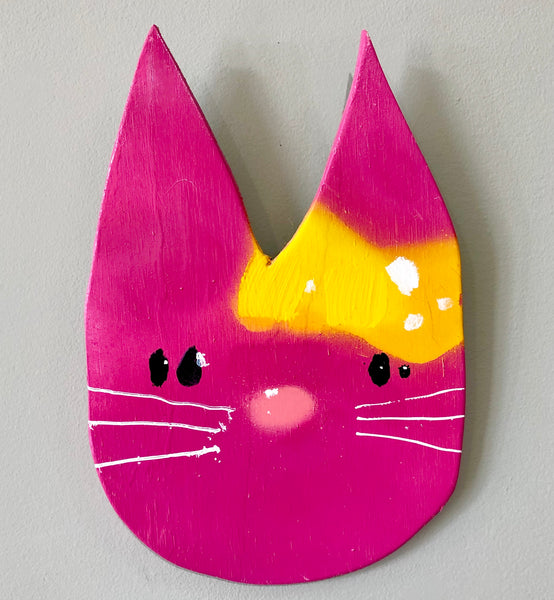 Anthony Lister: Hello Kitty (Pink)