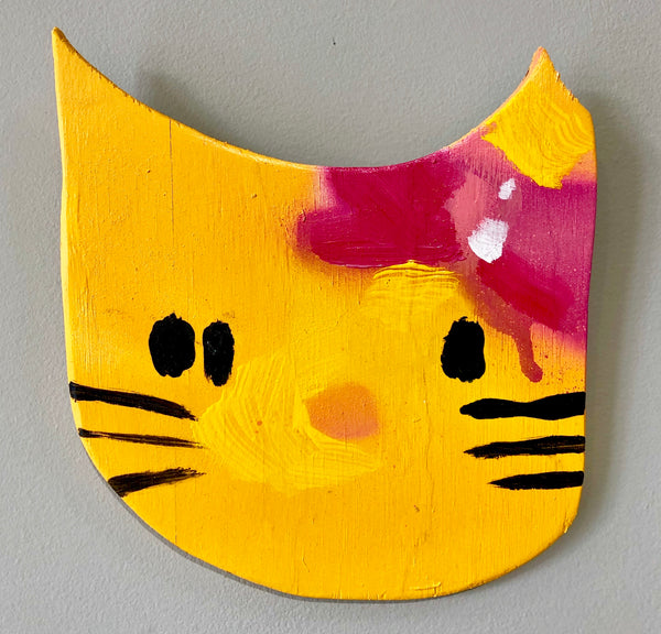 Anthony Lister: Hello Kitty (Yellow)