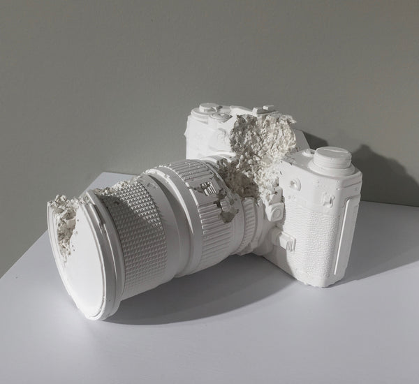 Daniel Arsham Future Relic 02 Camera limited edition artwork