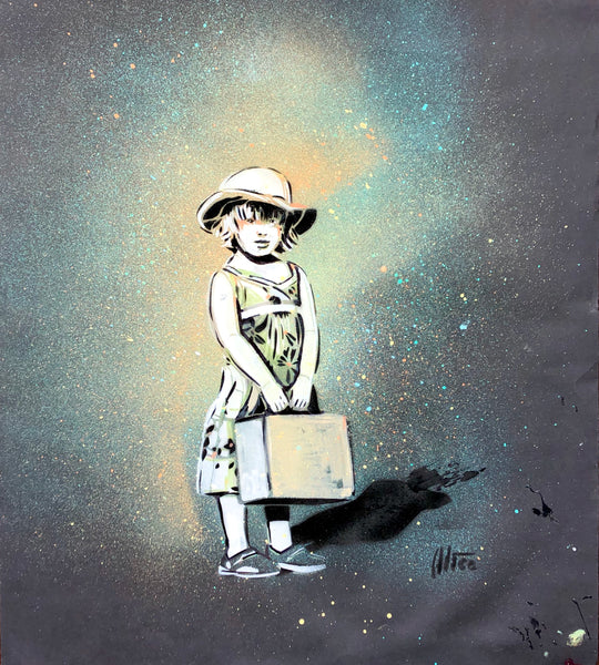 Alice Pasquini: Leaving