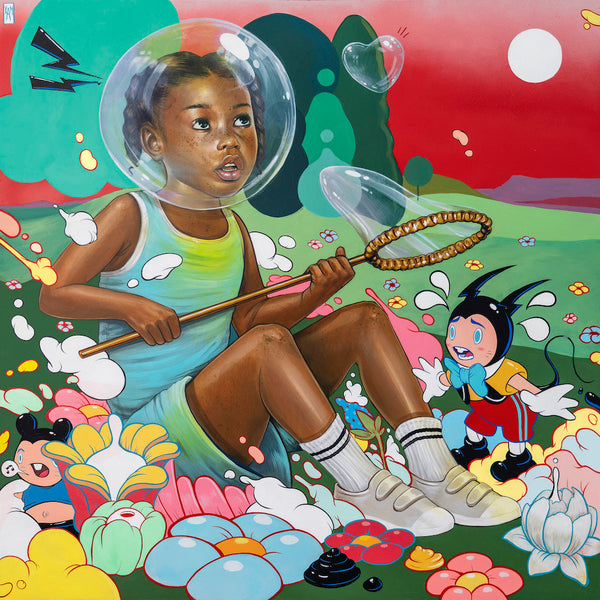 Kayla Mahaffey: 'In Your Own Bubble' Print