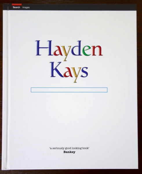 Hayden Kays is an Artist Signed Book