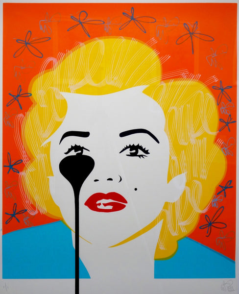 Pure Evil The Last Marilyn Marilyn Monroe limited edition artwork