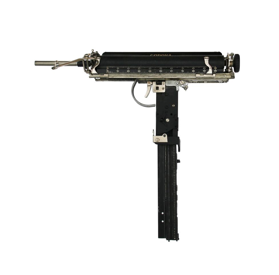 Ravi Zupa: Chicago Typewriter 'Uzi'