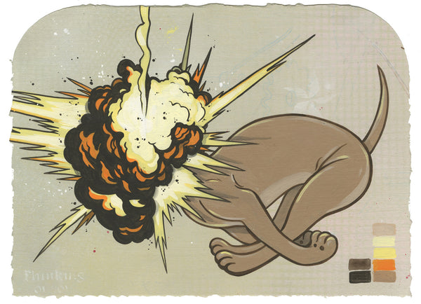 Steve Seeley: Untitled (Exploding Dog)