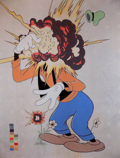 Steve Seeley: Untitled (Exploding Goofy)