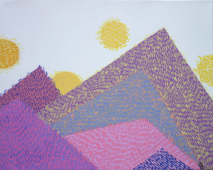 Polly Jiménez: Sunset Mountains
