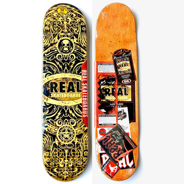 Shepard Fairey x Real Skateboards: Skateboard Deck