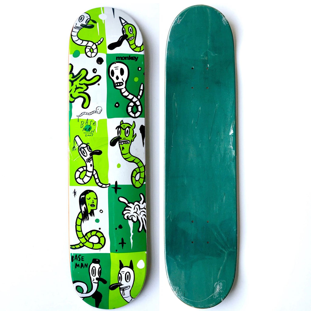 Gary Baseman x Monkey Business: Skateboard Deck