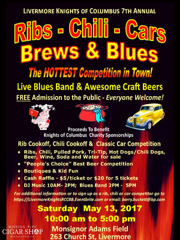 Knights Of Columbus Chilli Cook Off Car Show... Saturday May13th 10-5 MP Will Be On-Hand
