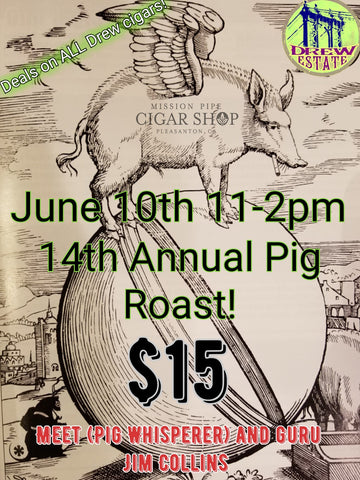 Pig Roast!!! Saturday June 10th From 11-2pm. Come And Tatse Jims Famous Pig