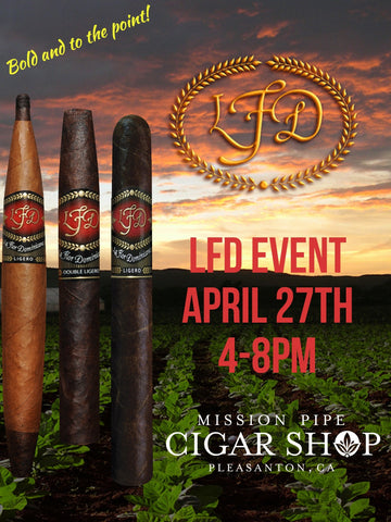 La Flor Dominicana Event..... CIGAR OF THE YEAR!!!!  April 27th 4-8pm