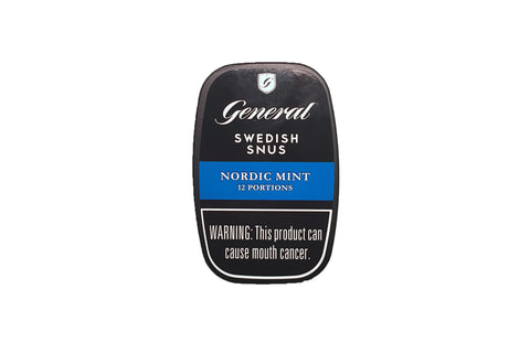 General Nordic Mint Portion