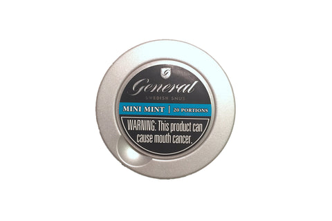 General Mini Mint Portion