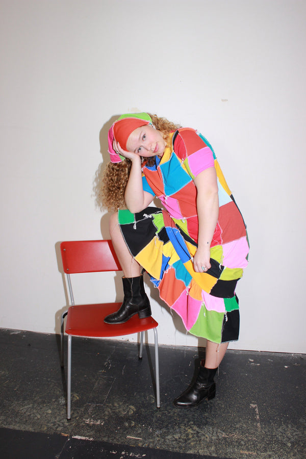 patchwork sustainable clothing