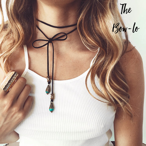 St. Eve bolo tie necklace