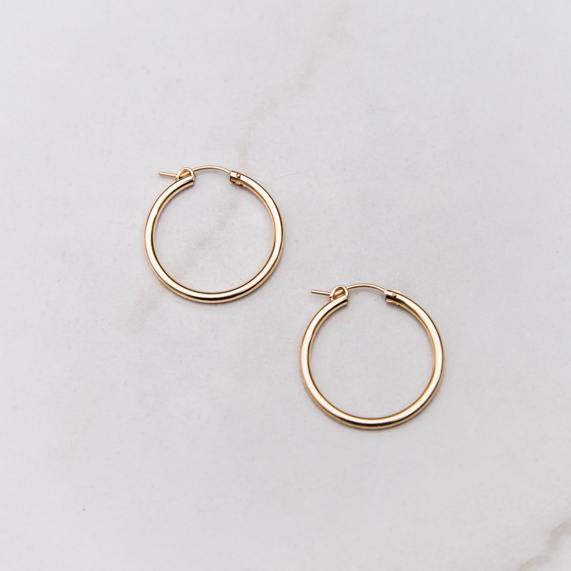 Hallow Hoop Earrings